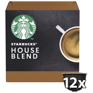 STARBUCKS NESCAFE DOLCE GUSTO HOUSE BLEND MEDIUM ROAST, 12 KAPSUL