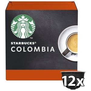 STARBUCKS NESCAFE DOLCE GUSTO SINGLE-ORIGIN COLOMBIA MEDIUM ROAST, 12 KAPSUL
