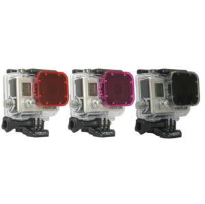 GOPRO HERO3 POLAR PRO CUBE FILTER 3 PACK