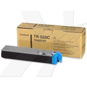 Kyocera originál toner TK520C, cyan, 4000str., 1T02HJAEU0, Kyocera FS-C5015N