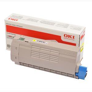 OKI originál toner 46507613, yellow, 11500str., OKI C712, O