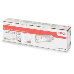 OKI originál toner 46861308, black, 10000str., OKI C824, 834, 844