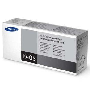 Samsung originál toner CLT-K406S, black, 1500str., Samsung CLP-360, 365, CLX-3300, 3305, O