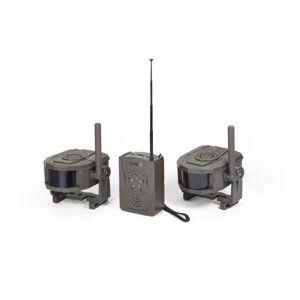 Technaxx bezdrátový bezpečnostní Alarm set, Přijímač a 2x pohybový sensor (TX-104)