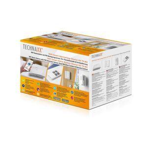 Technaxx bezpečnostní WiFi Smart kit, Základna, PIR snímač, dveřní,okenní kontakt, ovladač (TX-84)