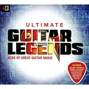 VARIOUS: ULTIMATE... GUITAR LEGENDS, 4CD