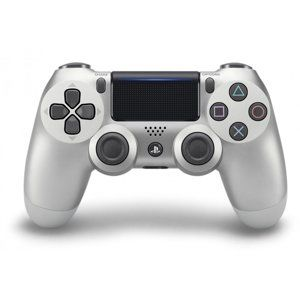 SONY PS4 DUALSHOCK WIRELESS CONTROLLER SILVER V2