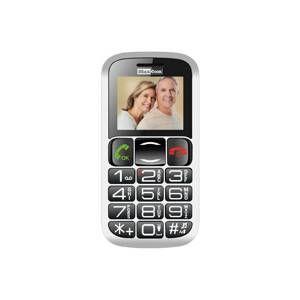 MAXCOM MM462 MOBILNY TELEFON PRE SENIOROV, CIERNY
