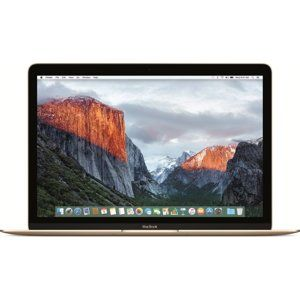 "APPLE 12"" MACBOOK: 1.2GHZ DUAL-CORE INTEL CORE M3, 256GB - GOLD MNYK2SL/A 2017"