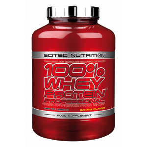 SCITEC 100% WHEY PROTEIN PROFESSIONAL 2350G BANAN